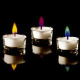 Colour Flame Tealights