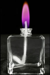 Pink Colour Flame Lamp Refill