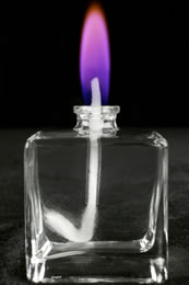 Purple Colour Flame Lamp Refill