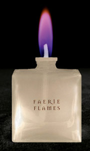 Purple Colour Flame Lamp