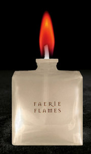 Red Colour Flame Lamp