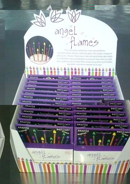 Angel Flames with Display Box