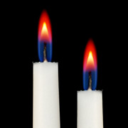 Smooth Red Colour Flame Votive Candles